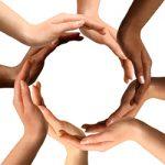 circle of hand